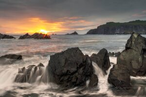 Long exposure photograph of Sybil Head, Dingle, Kerry, Ireland